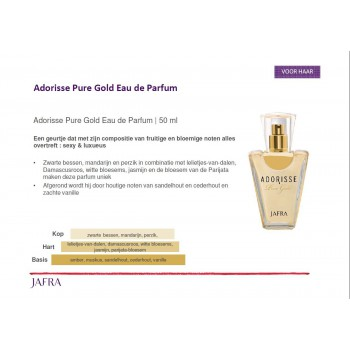 Adorisse Pure Gold- EDP