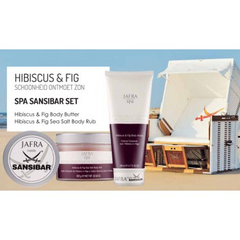 Spa Sansibar Hibiscus & Fig  Set