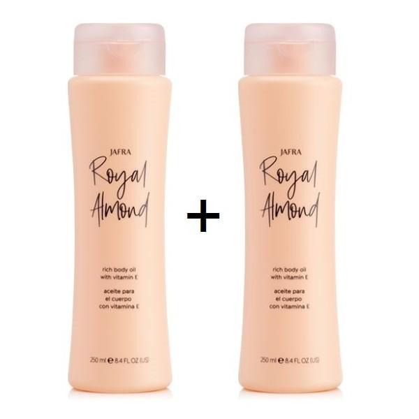 Royal Almond Body Oil Set 2