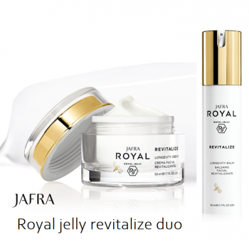 Royal Jelly Revitalize Global Longevity Duo