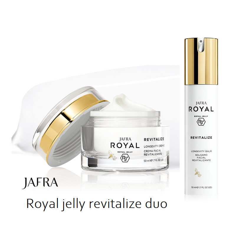 Royal Jelly Revitalize Global Longevity Duo