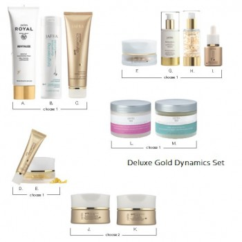 Deluxe Gold Dynamics set