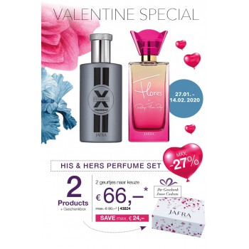 HIs & Hers  Parfum Set