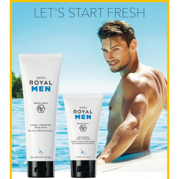 Royal Jelly Skincare for Men