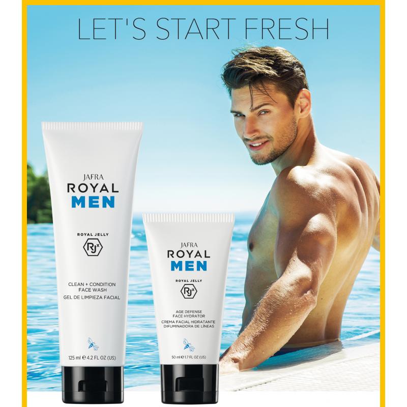 Royal Jelly Skincare for Men