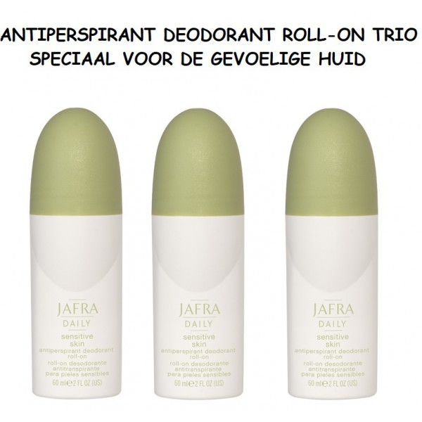 Sensitive Skin Antiperspirant Deodorant  Roll-on Trio VK