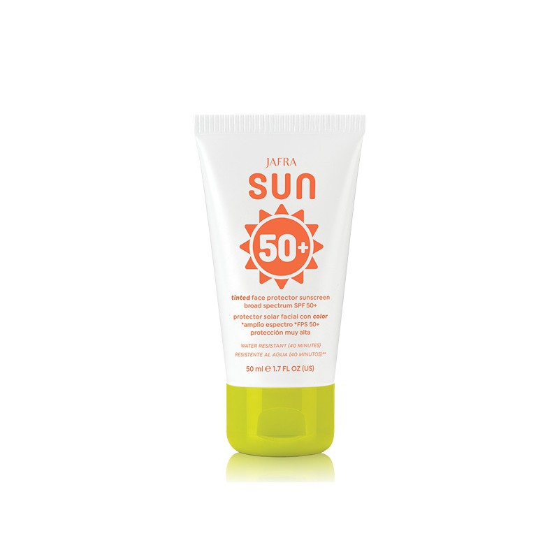 Tinted  Face Protector Sunscreen Broad Spectrum SPF 50+ - Oil Free