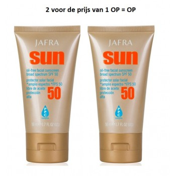 Oil Free Facial Sunscreen SPF 50