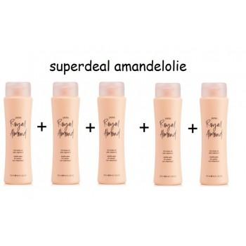 Royal Almond Body Oil Set 3