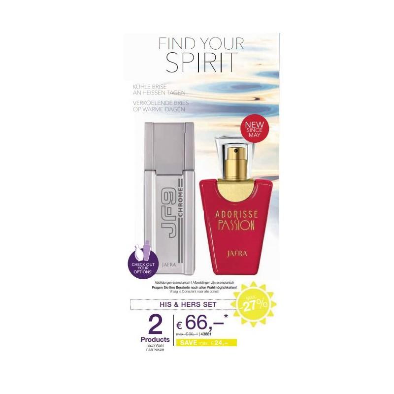 Dames & Heren Parfum Set