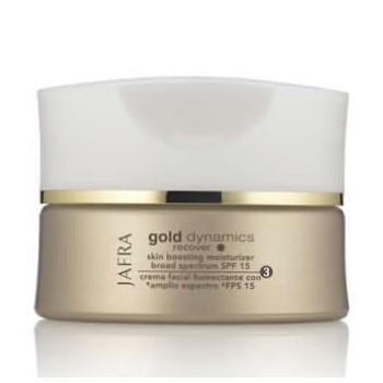 Gold Skin Boosting Moisterizer  SPF 15, gold dynamics