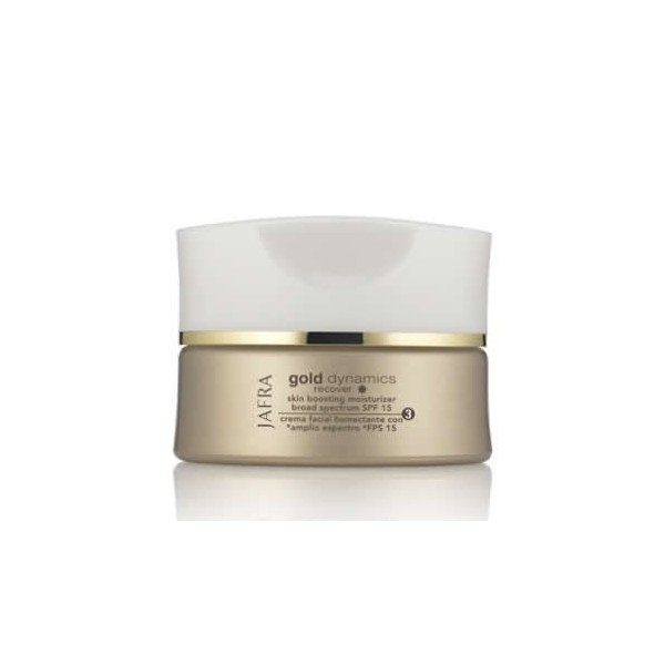Gold Skin Boosting Moisturizer  SPF 15, gold dynamics